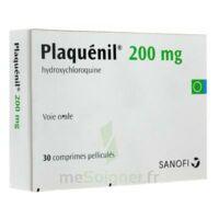 PLAQUENIL 200 mg, comprimé pelliculé à VALENCE