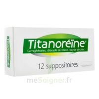 TITANOREINE Suppositoires B/12 à VALENCE