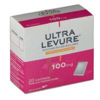 ULTRA-LEVURE 100 mg Poudre pour suspension buvable en sachet B/20 à VALENCE