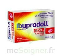 IBUPRADOLL 400 mg Caps molle Plq/10 à VALENCE