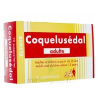 COQUELUSEDAL ADULTES, suppositoire à VALENCE