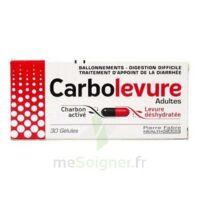 CARBOLEVURE Gélules adulte Plq/30 à VALENCE