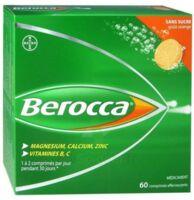 Berocca Comprimés effervescents sans sucre T/60 à VALENCE
