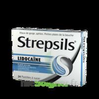 Strepsils lidocaïne Pastilles Plq/24 à VALENCE