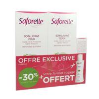 Saforelle Solution soin lavant doux 2*500ml+100ml à VALENCE