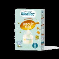 Modilac Céréales Farine Biscuit miel à partir de 6 mois B/300g à VALENCE