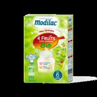 Modilac Céréales Farine 4 Fruits quinoa bio à partir de 6 mois B/230g à VALENCE