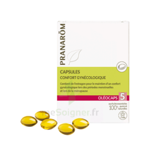 Oléocaps 5 Caps Cycle Menstruel Bio B/30 à VALENCE