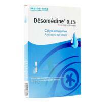 DESOMEDINE 0,1 % Collyre sol 10Fl/0,6ml à VALENCE