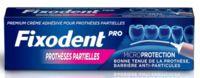 Fixodent Pro Crème Adhésive Pour Prothèse Partielle T/40g à VALENCE