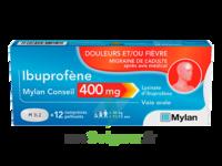 IBUPROFENE MYLAN CONSEIL 400MG, comprimés pelliculés à VALENCE