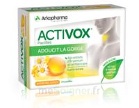 Activox Sans Sucre Pastilles Miel Citron B/24 à VALENCE