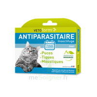 Vetoform Pipettes Antiparasitaire Chat 3x1ml à VALENCE