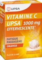 Vitamine C Upsa Effervescente 1000 Mg, Comprimé Effervescent à VALENCE