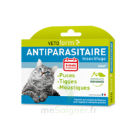 Vetoform Pipettes Antiparasitaire Chat 6x1ml à VALENCE
